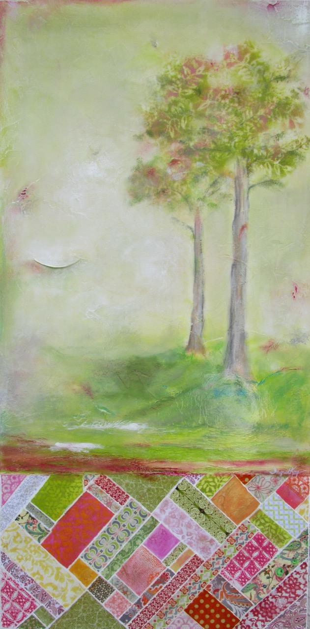 Celedon Blossom - 24 x 48