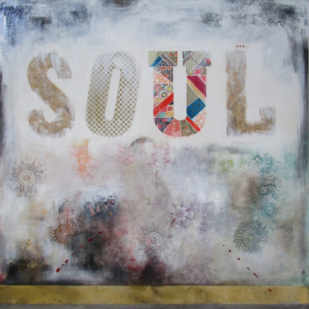 "Beautiful Soul  48""x48"""