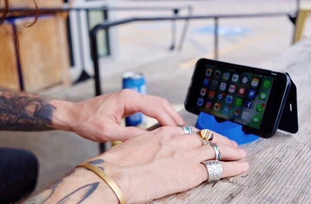 """Once you put your tablet, e-reader, or smartphone in the Stump Stand, you will realize how perfect the stand is at holding your device in a comfy position for viewing or typing."" - Mobile Tech Review"
