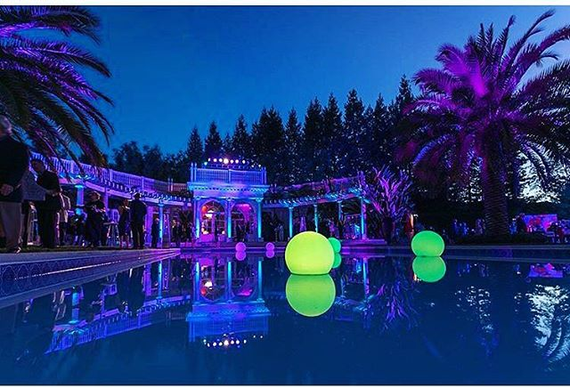 Pool party! . . #eventproduction #eventdesign  #lightingdesign #lighting #artistic #summernights #eventplanning  #corporateevent #corporatedinner #event  #eventplanner #production #productionlighting #soundproduction #lightingproduction #videoproduction #productionlife #wedding #poolparty #weddingplanner #weddingday #bride #reception #led #ledlighting #love #gala #shinelighting #elegance #eventstyling