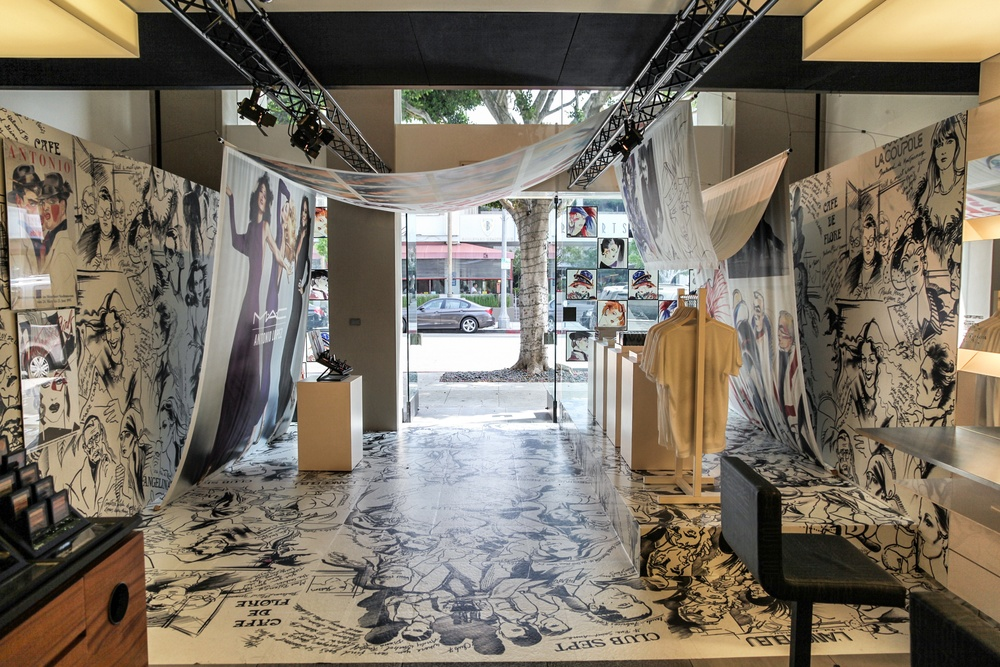 MAC COSMETICS ANTONIO LOPEZ POP-UP