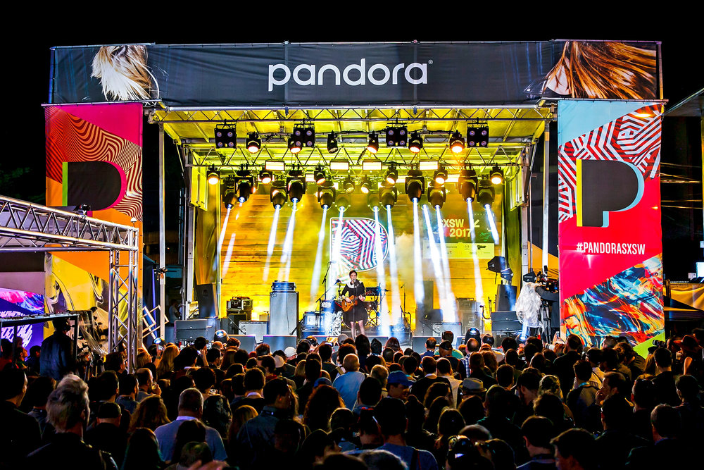PANDORA SXSW 2017