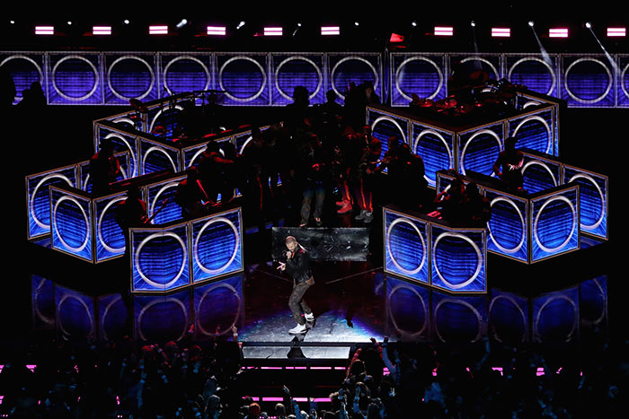 BIZBASH | RATING SUPER BOWL LII: EVENT PRODUCERS GIVE HALFTIME SHOW A 'B'