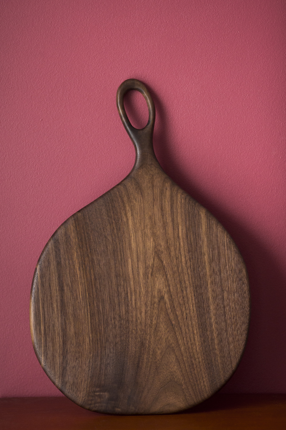 Serving board, black walnut