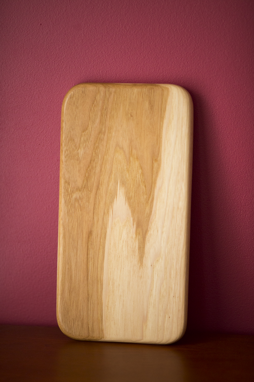 Serving board, yellow birch