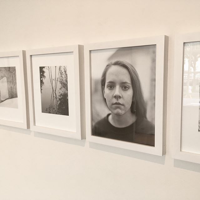 """I'll be at @janedeeringgallery today until 4pm if you want to see my show """"Neither Mustard Nor Teeth,"""" with recent photos by me and drawings and watercolors by David West. 19 Pleasant St. Gloucester."""