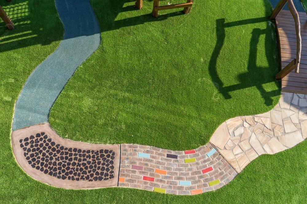Sensory path/ bike track