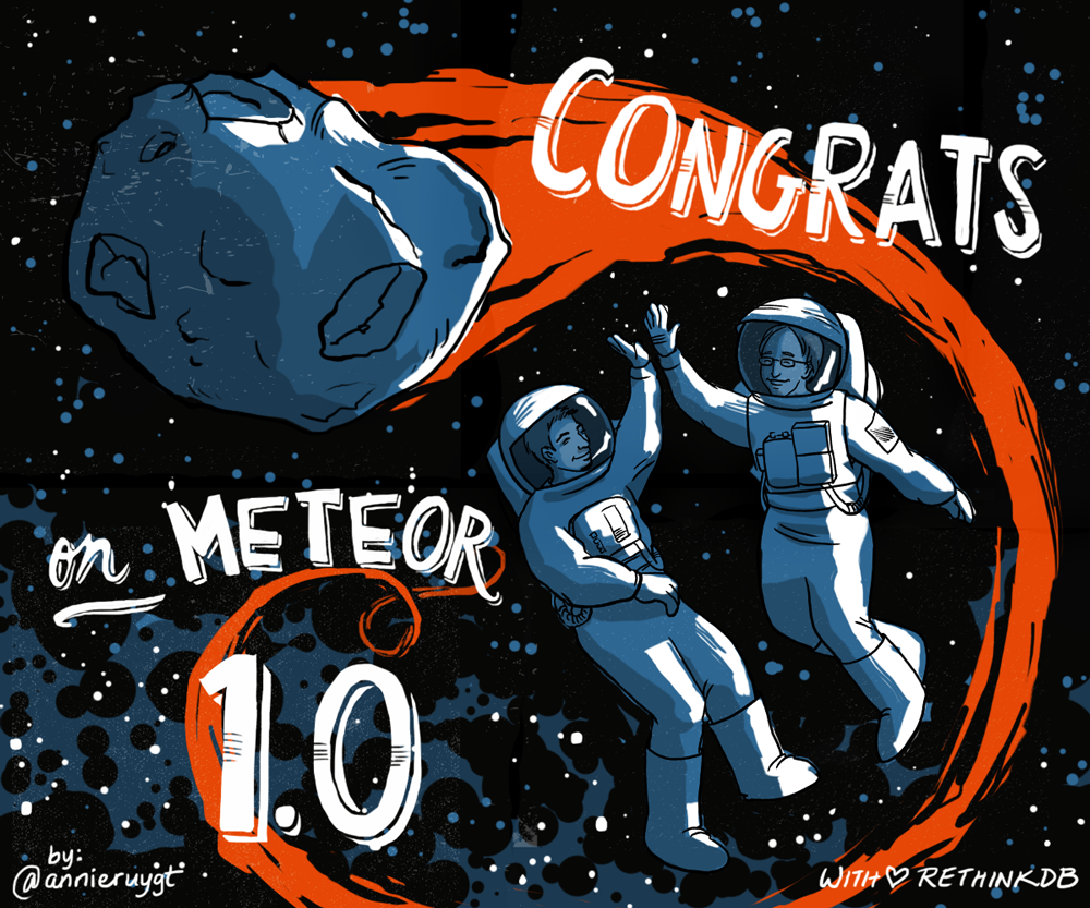 I love making things to celebrate the wonderful things we create!  Congrats to Meteorjs for TONS of hard work to make developer's lives easier.