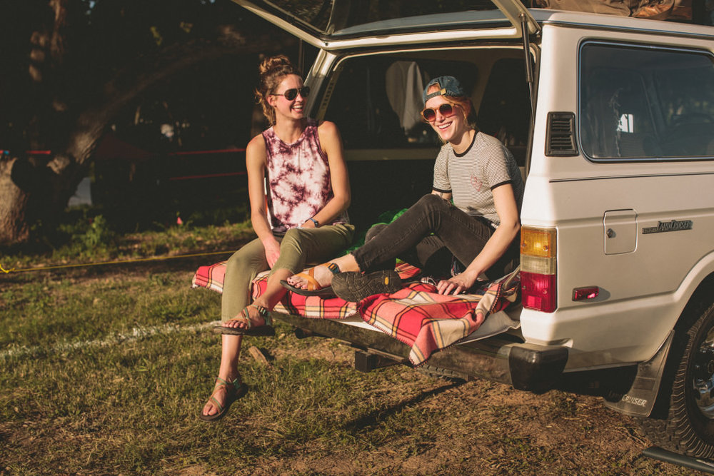 Festival car camping is the quintessential summer must-do.  Photo courtesy of Chaco