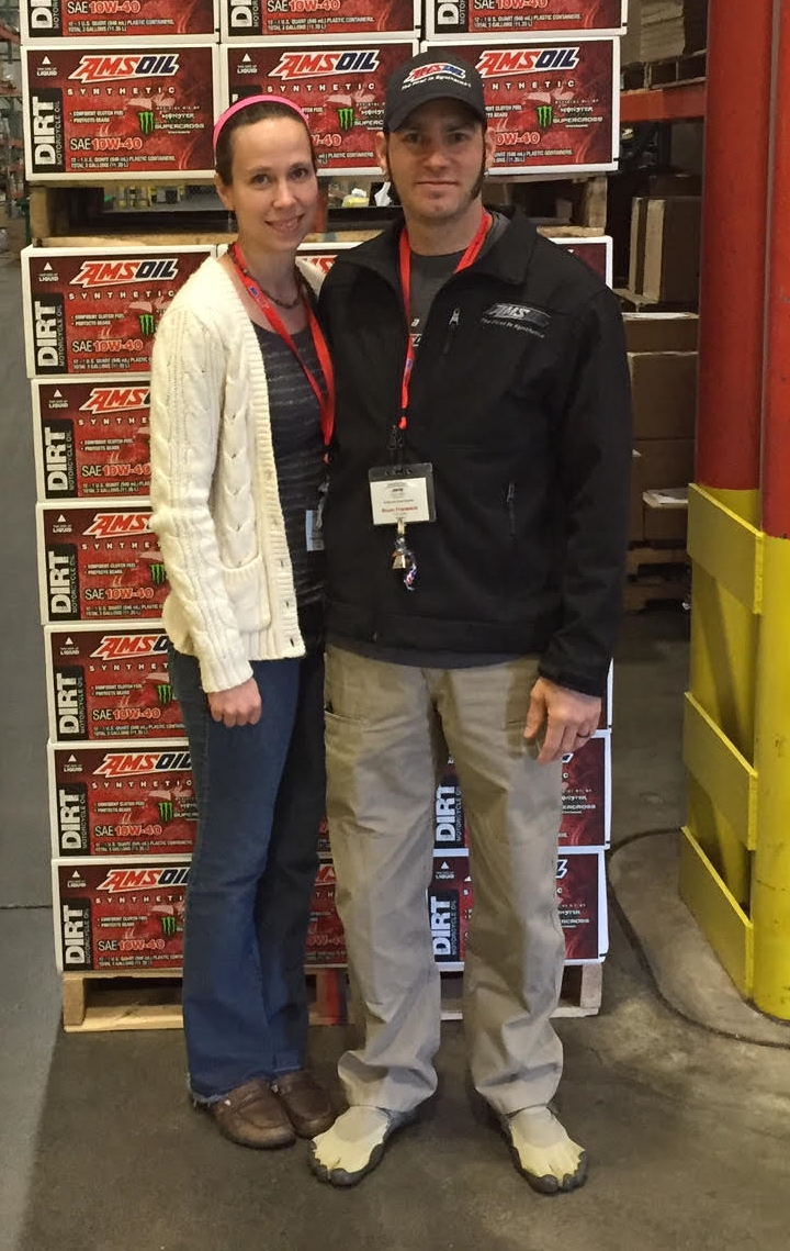 Bryan and Fran Frambach - Fayetteville AMSOIL Dealers