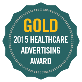 2015 Gold Healthcare Advertising Awards.png
