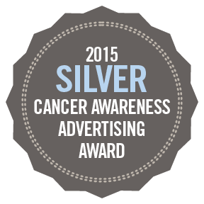 2015 Silver Cancer Awareness Advertising Awards.png