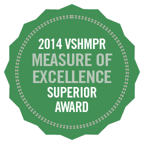 2014 VSHMPR Measure of Excellence Superior Award.png