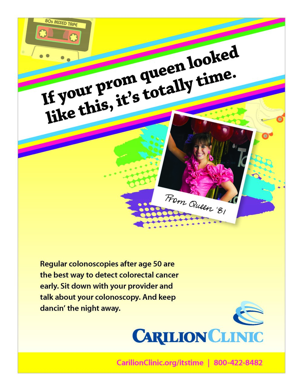 G89462 Colon Cancer Promotion Flyer_1980s Prom Queen.jpg