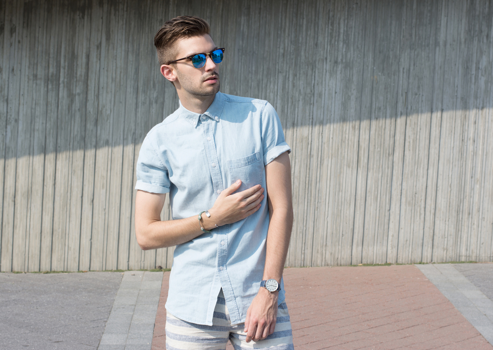 The Modern Otter | TopMan #menswear #mensfashion #summerstyle