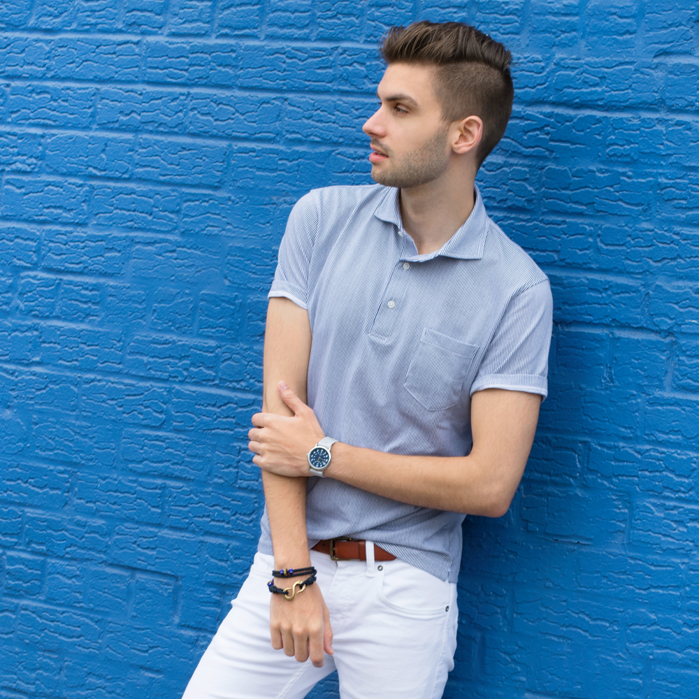 The Modern Otter | #mensstyle #uniqlo #mensfashion #whitedenim #summerstyle