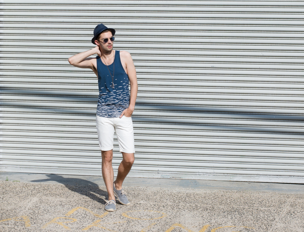 The Modern Otter | Alternative Apparel #menswear #style #tanktop