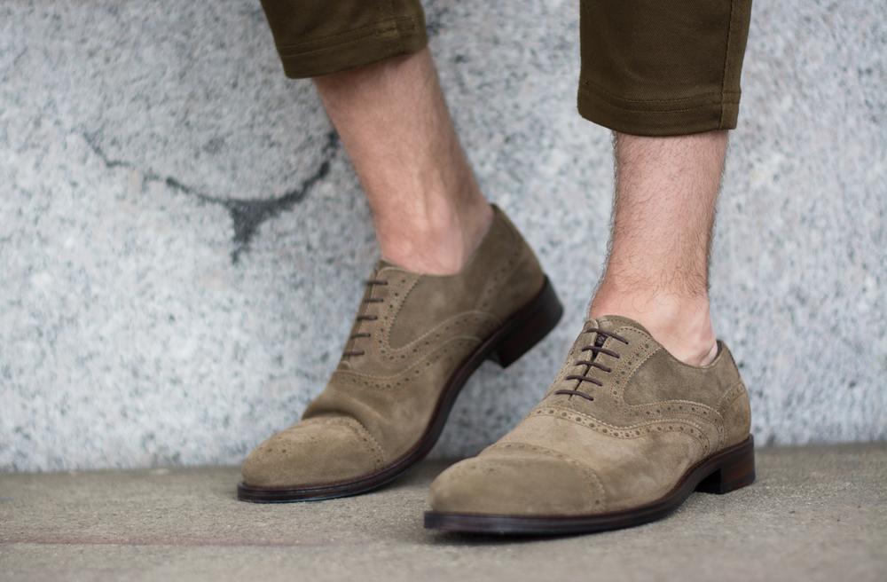 Crosby Square Suede Brogues | The Modern Otter