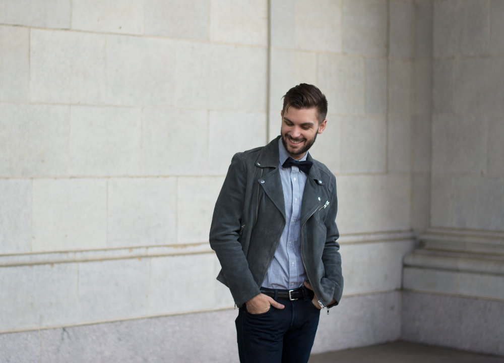 How To Style a Bow Tie For A Wedding — The Modern Otter