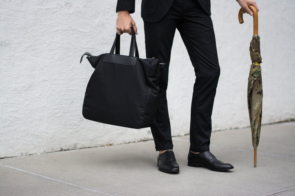 Gordon Rush Black Cap Toe | The Modern Otter