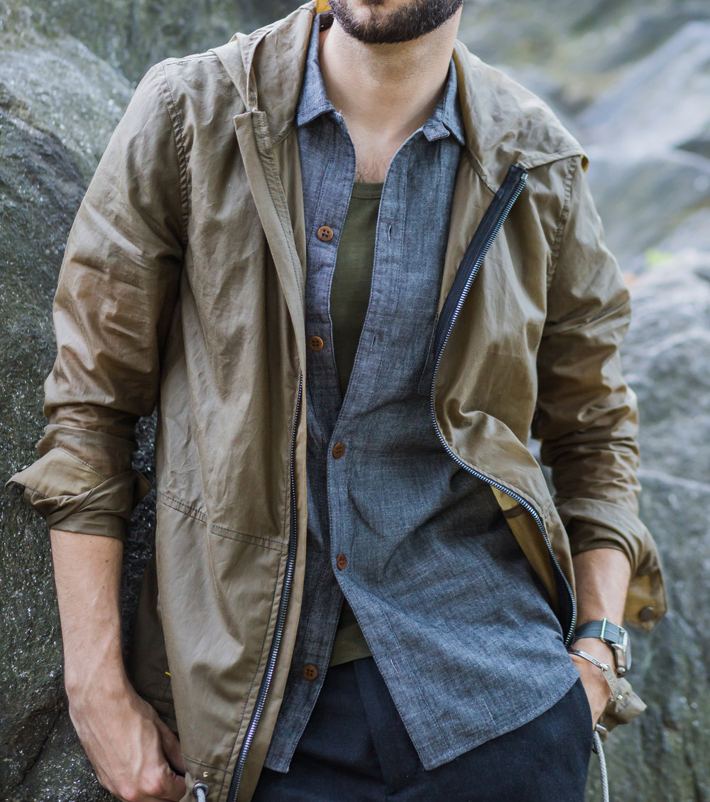 Waxed Cotton Jacket - Mitchell Evan | The Modern Otter