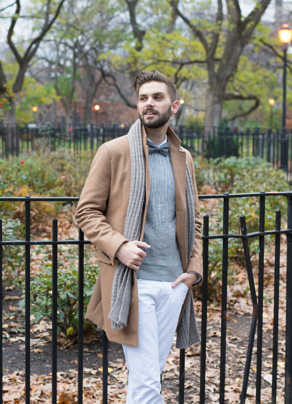 Winter White Denim | INC x The Modern Otter