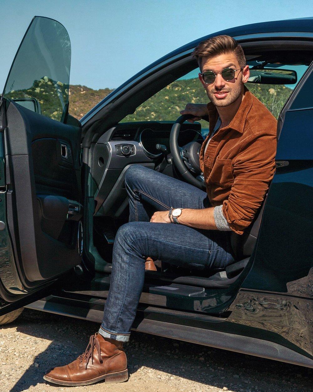 Ford Mustang Bullitt with Bang&Olufsen audio system | The Modern Otter