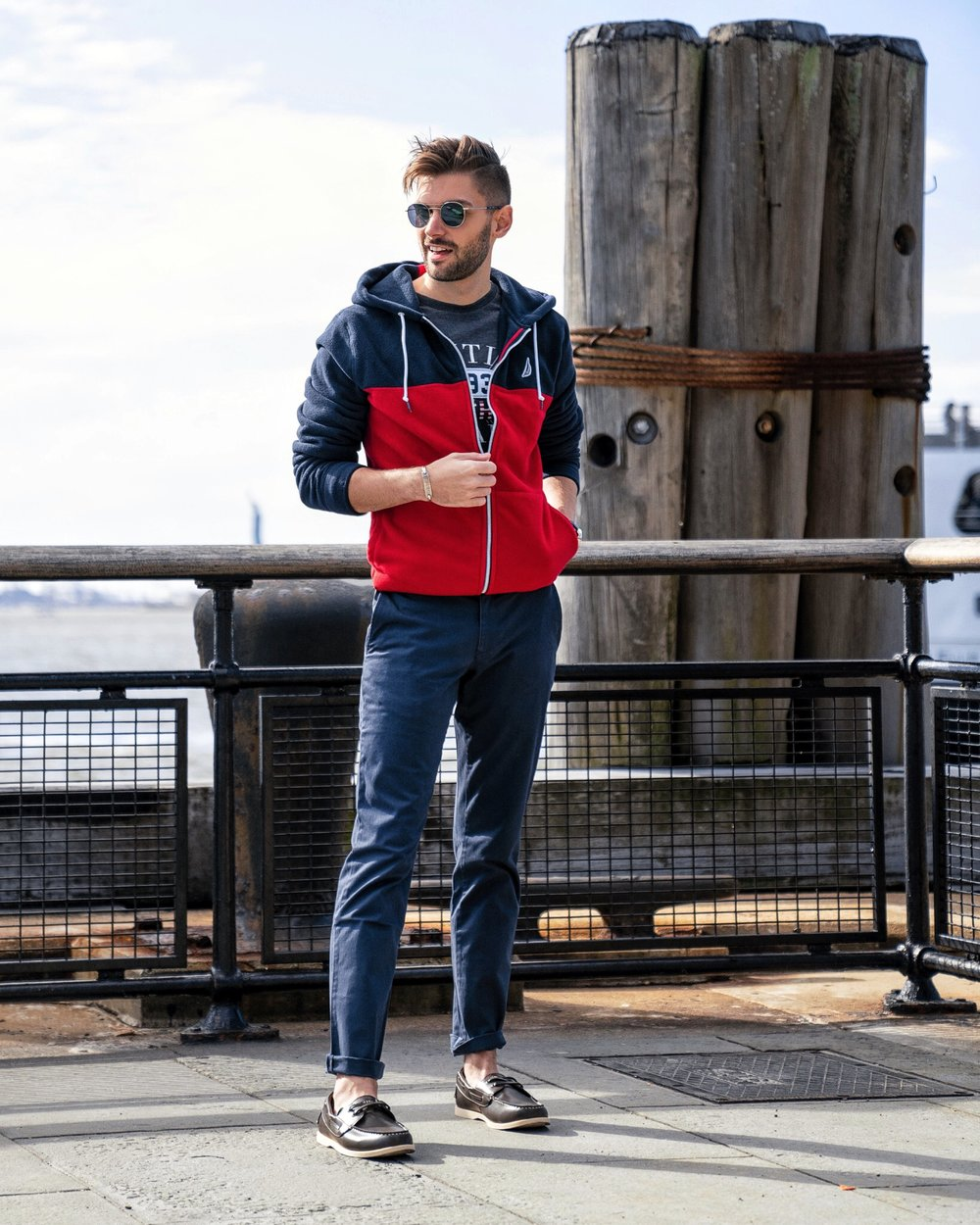 Nautica and Amazon Fashion | The Modern Otter | www.amazon.com/shop/themodernotter