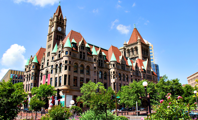 Landmark Center in St. Paul, MN
