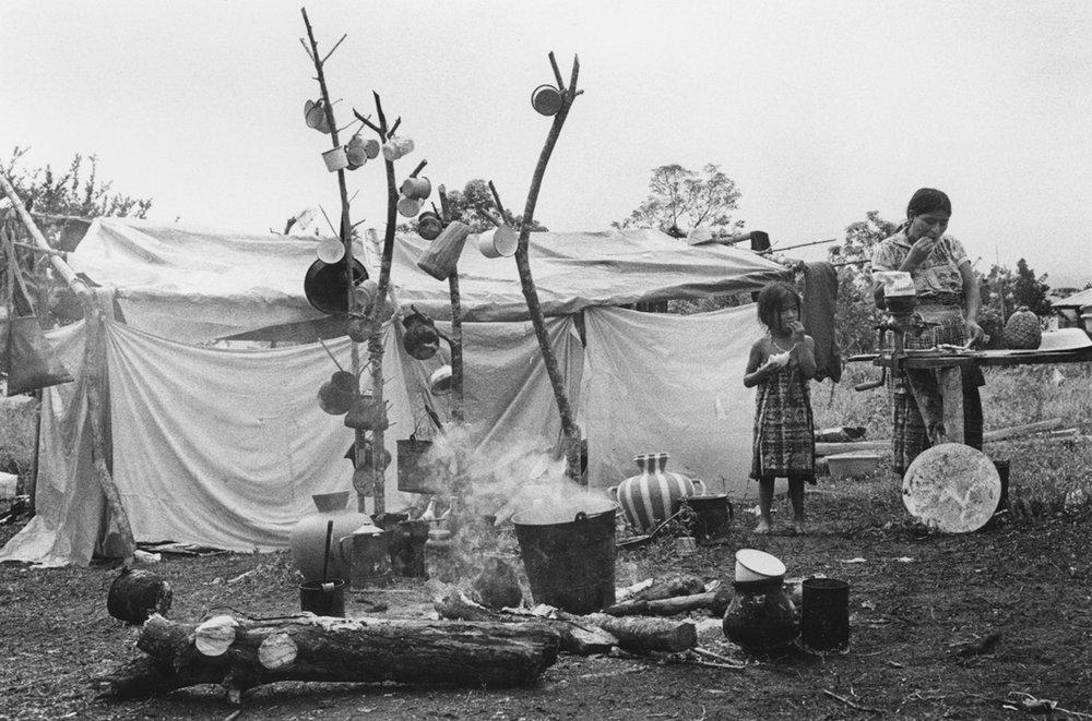 Llegada de Refugiados Guatemaltecos / Arrival of Refugees from Guatemala