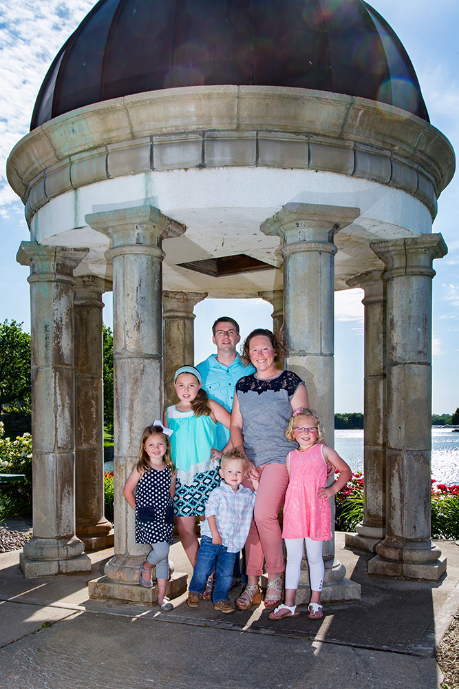 I have the privilege of photographing this lovely family every year!