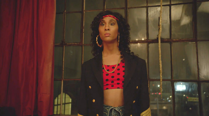 MJ Rodiguez as Blanca Evangelista on 'Pose'.