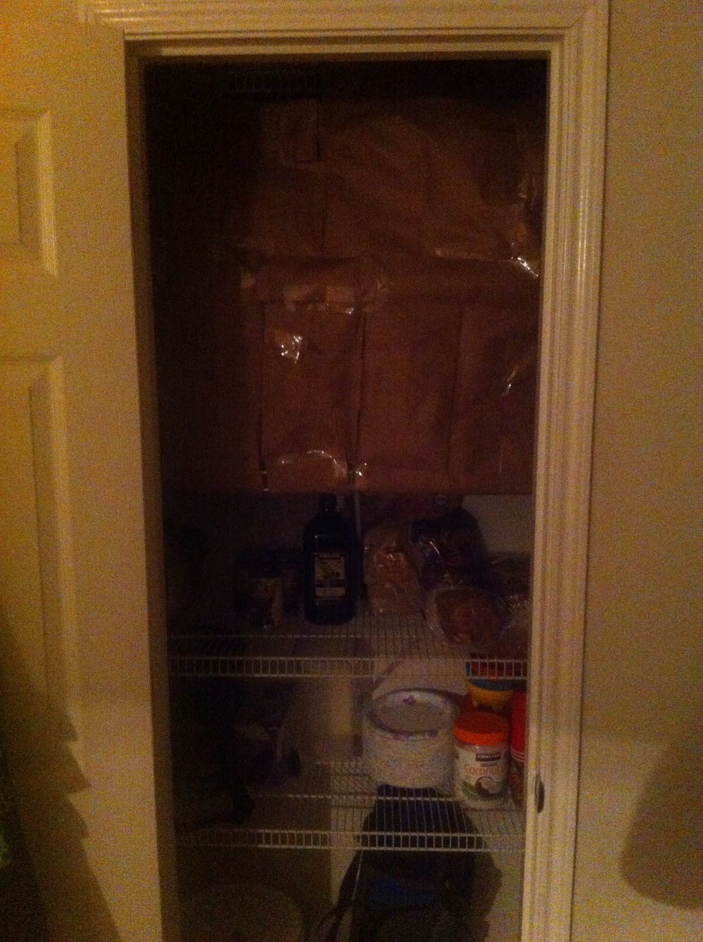 Barricaded Pantry