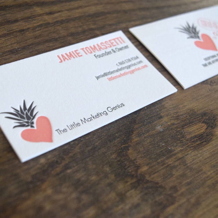 Business Card — The Little Marketing Genius