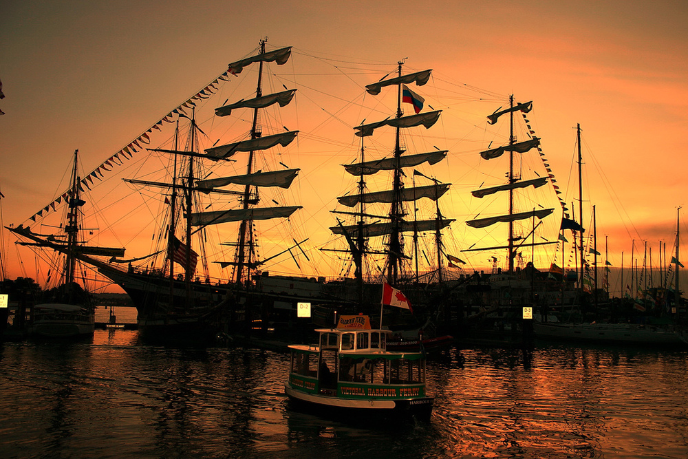 Tall Ships in the Inner Harbour
