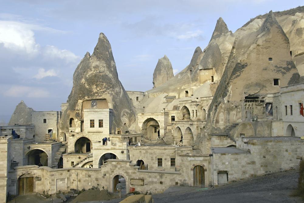 Cave city in Cappadocia