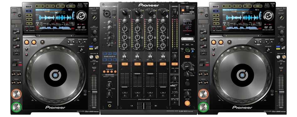 CDJ 2000 Nexus / DJM 900 Nexus