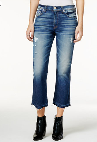 Seven for All Mankind Cropped Flare