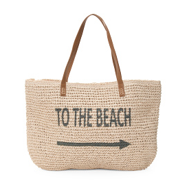 TJ Maxx To The Beach Tote