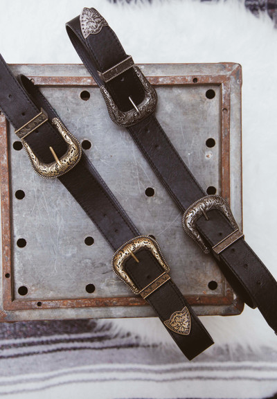 Vann Double Buckle Belt