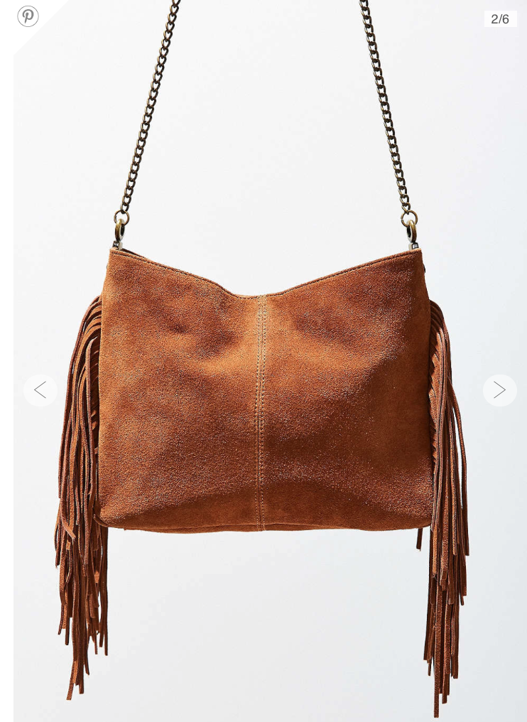 Urban Outfitters Fringe Bag