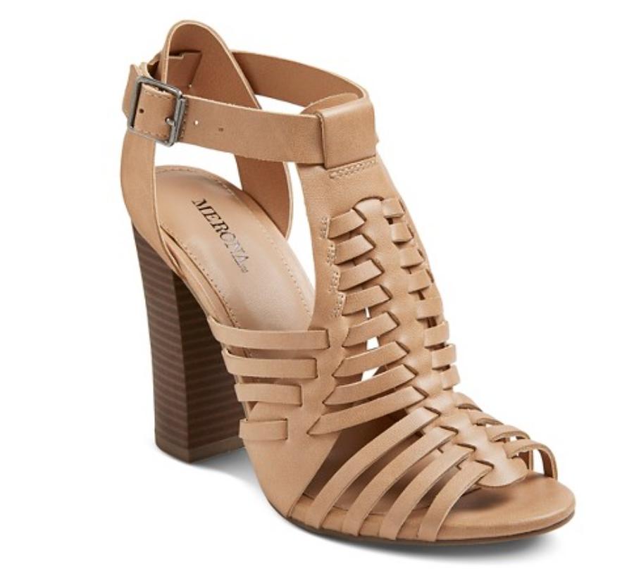 Target Nude Sandals