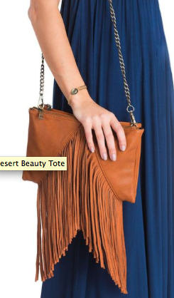 For Elyse Fringe Bag