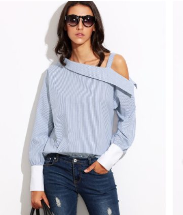 SheIn Aysmmetrical Top