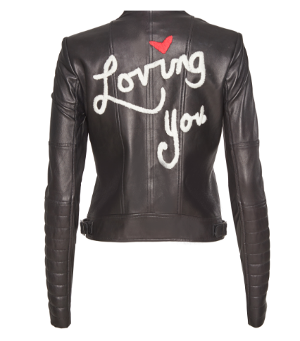 Alice + Olivia Leather Jacket