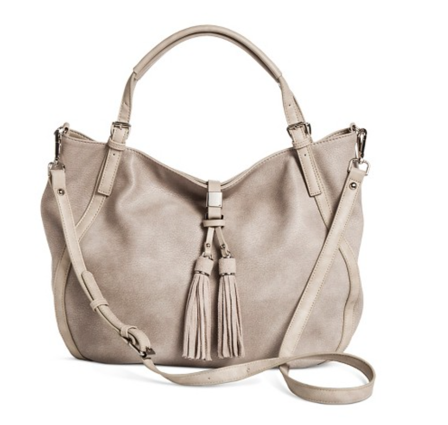 Target Tote with Tassel