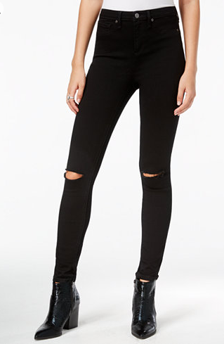 William Rast Distressed Skinny Jeans