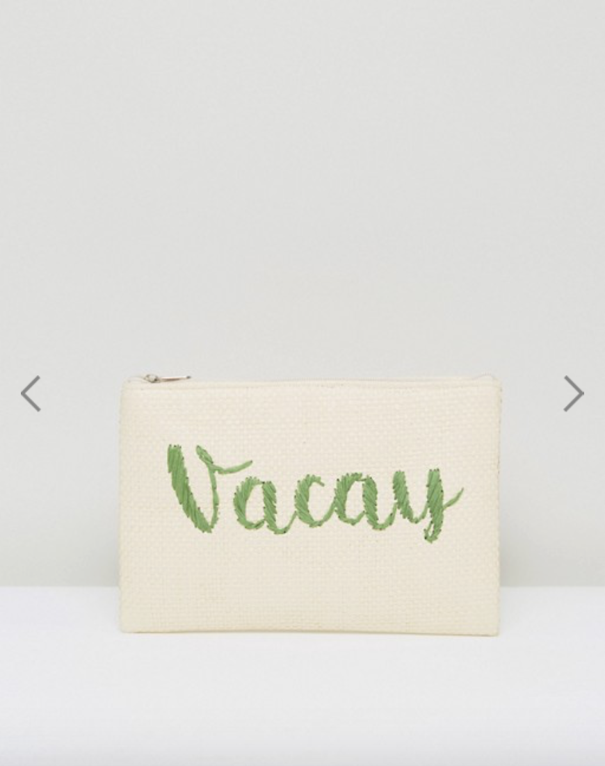 ASOS Straw Clutch