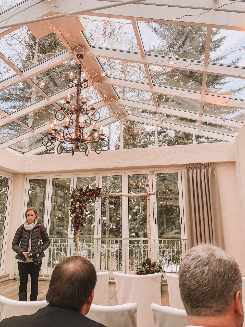 Wedding Venue, Sonnenalp Vail