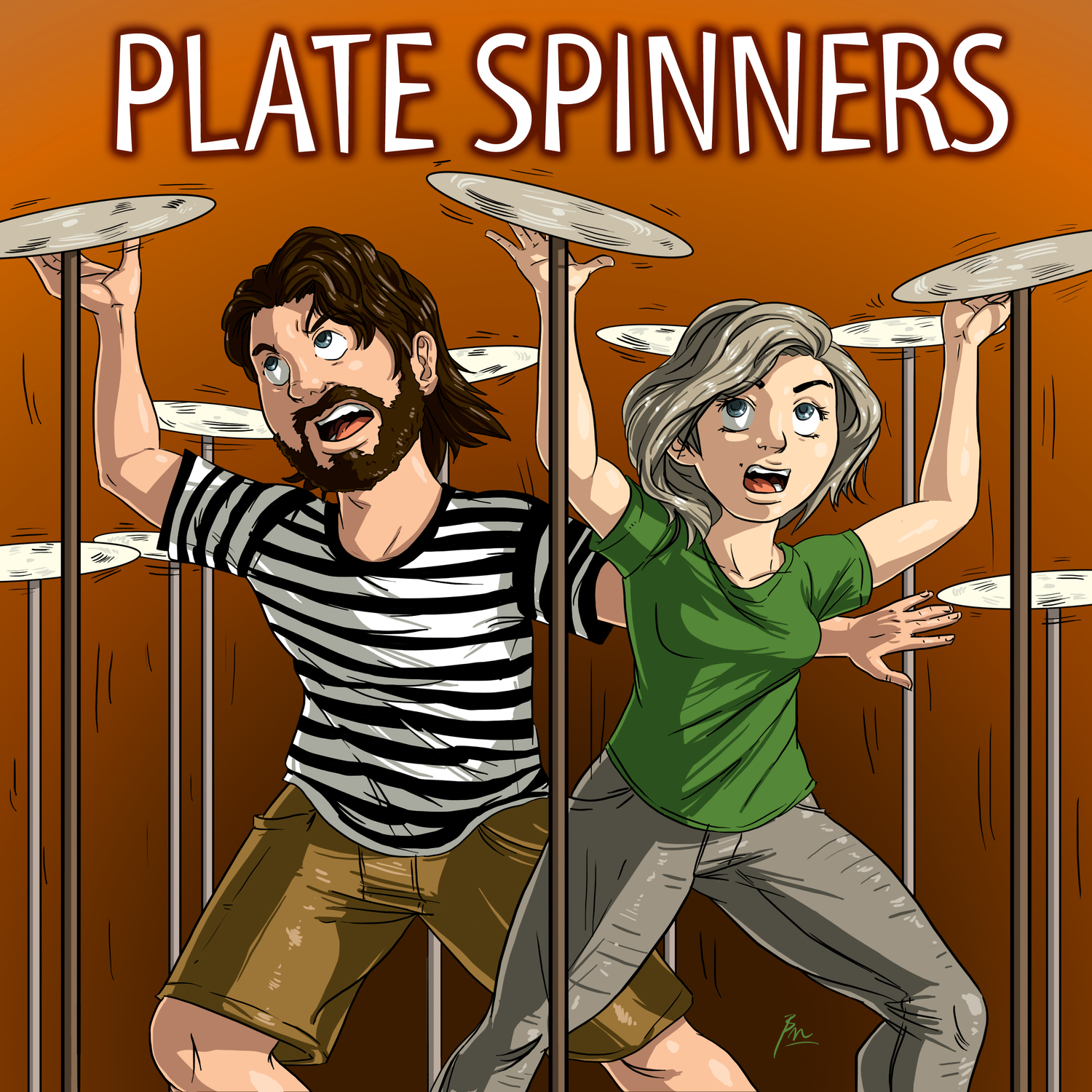 Plate Spinners - First Day Productions